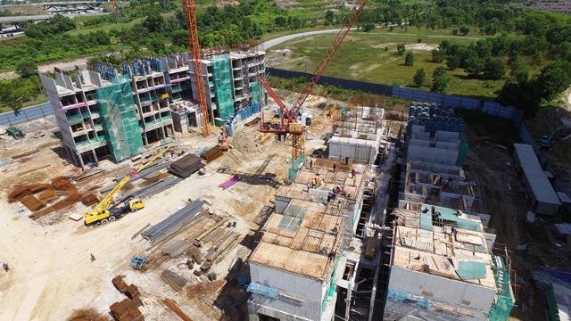 Gambar Kemajuan Projek PPA1M Putrajaya