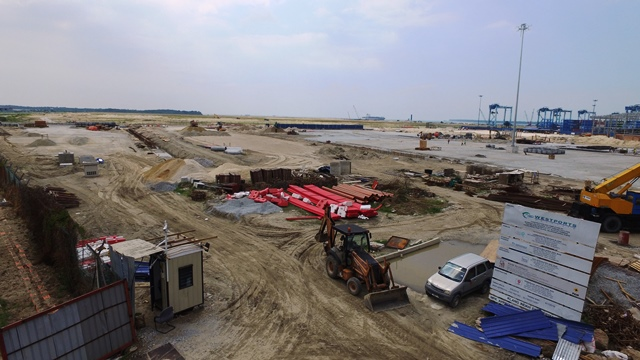 Westports Pulau Indah - Marshalling Building and Parking Facilities