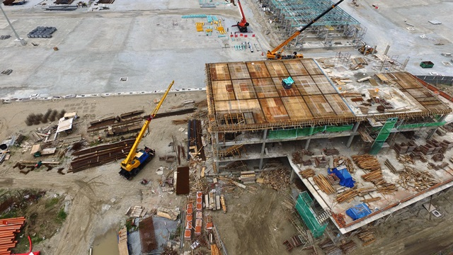 Westports Pulau Indah - Marshalling Building and Parking Facilities