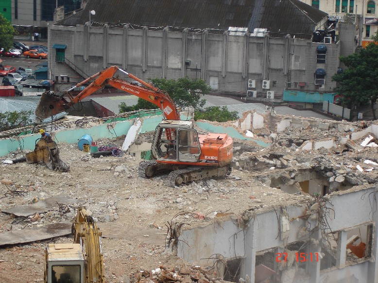 Menara Mara - Demolition Works