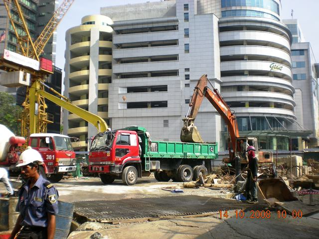 Menara Mara - Construction Works