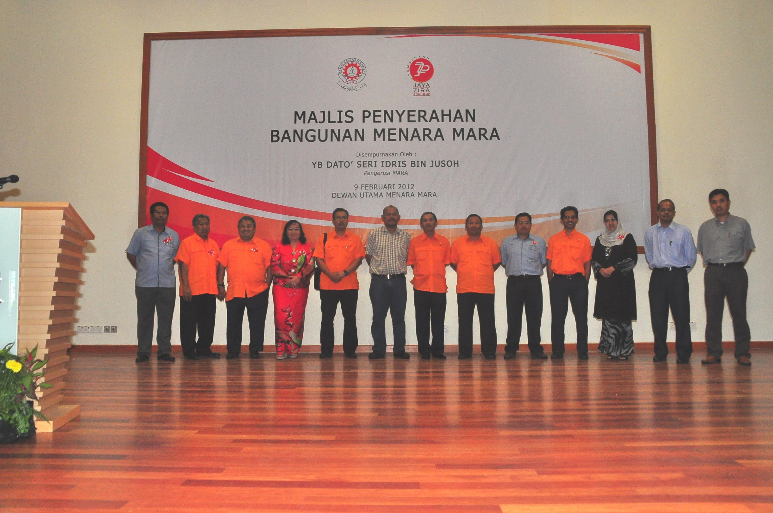Pembinaan Jaya Zira Sdn Bhd Management Team